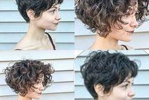 lockige Frisuren