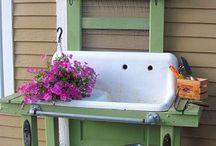 garden sheds / by Angie Jorgensen