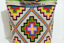 Wayuu Mochila bag, patterns & tutorials
