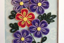 quilling for my notebook