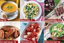 Thrifty food shopiing and recipes