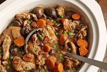 Recipes / Slow cook chicken with stout