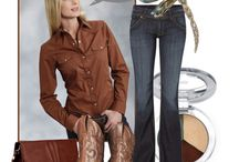 Cowgirl Fashion N' Cowboy Style !!! / Complete looks for your Cowgirl or Cowboy