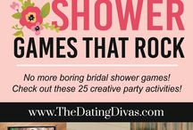 Bridal Shower Ideas, Games & Inspiration / Getting an invitation to a bridal shower can be daunting! If you are the lucky lady to be throwing a bridal shower for friend - let's make it awesome. We found some great bridal shower ideas, tips and even fun bridal shower games.