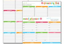 Meal Planning~ / An essential part of my homemaking is meal planning...helpful ideas and systems for this is found here!
