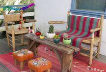Decoración y reciclaje / Algunas ideas de decoración e interiorismo con productos o artículos reciclados.