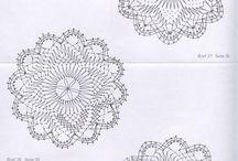 Kruhové paličkovanie / kruhové  dečky a bordury