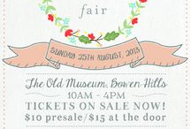 Eco Wedding Fair / Eco Wedding Fair is coming back in 2015. Stay tuned for dates in Melbourne and Brisbane. / by Eco Brides Magazine
