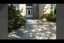 Stamped Concrete : Patterns, Colors & Styles / Customize your concrete with our stamped overlay system.