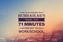 Life of a Mumbaikar / A minute used well, is a penny earned. There is no doubt a Mumbaikar lead extremely stressful lives. Now is the time to choose #PracticalLiving