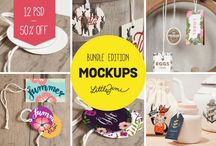 Mockups / Show your work off in style! A variety of creative, inspiring mock-ups.