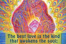 Krása svědectví o lásce muže a ženy.