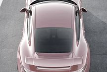 Baby pink cars