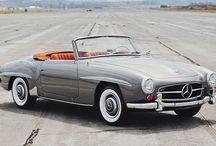 Chasing Cars / Awesome en classic cars. (Pro Mercedes en Ferrari)