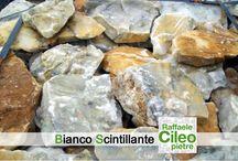 Bianco Scintillante / Raffaele Cileo Pietre oggi vi propone Bianco Scintillante, materiale adatto per rivestimenti esterni ed interni.