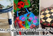 Ideas originales para sillas y bancos