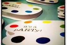 art party ideas / by Elizabeth Smith