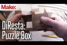 wooden puzzlebox