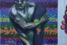 Graffiti / Uns graffitis realizados por aí...