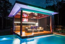 Swimming Pool Ideas / During a hot, humid summer, nothing is as refreshing as a swimming pool.