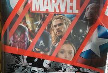 Marvel tranding card panini