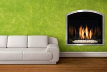 Mendota / Fullview gas fireplace, there's much to love!