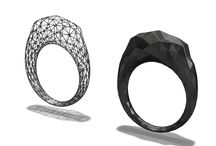 3D jewelry / 3D jewelry models created with VECTARY 3D modeling tool