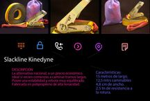 Slackline Kinedyne de 15 mtrs / Slackline para principiantes Kinedyne