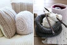 Knit home decor