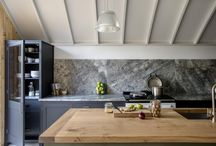 Middleton Modern Kitchens / The Modern Middleton Kitchen is an expression of British craftsmanship and design. The cabinetry has a utilitarian beauty with clean lines, pure shaker doors and simple open legs
