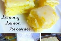 lemony lemon brownie