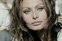 Sophia Loren / A beautiful, classy, sophisticated lady she always has been and still is. Timeless beauty, an icon...
