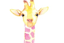 Water color animals