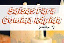 salsa comidad rapida