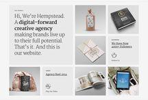 Portfolio Websites Design Inspiration / Design inspiration for portfolio websites for artists, designers, photographers, sculptors, etc. Build your own portfolio site at AllyOne.net
