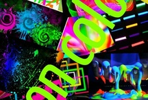 All that neon / All that neon / by Beth Rivard