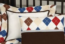 Plaid Theme: Nursery Design Inspiration / Using plaid in the nursery is a wonderful way to make it eye catching...