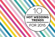 Wedding Trends for 2015 / by One Fab Day - Wedding Blog