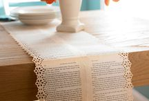 Book Page Crafts / My favorite Craft Tutorials and Ideas using Book Pages.  / by Karen - The Graphics Fairy