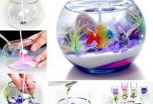 gel candle/decoration