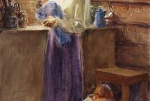 Mother's love by Lorena entz / Mãe com criancas