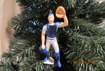 Merry Metsmas / New York Mets inspired Christmas decorations and ornaments.
