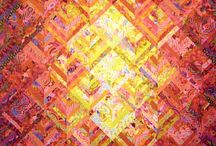 pink quilts / by Carol Mercer