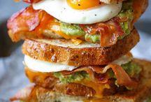 Frühstück Sandwiches