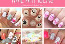 Nail Daily / a creative way to decorate nails.