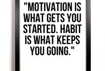 Motivating Fitness Quotes / by Leona Thom