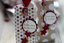 Card / Box - Christmas  Verpackungen