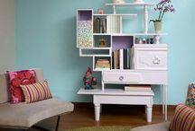Hus og møbler