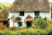 Natural Materials / Buildings that are constructed with very low impact materials such as straw bales, cob etc.