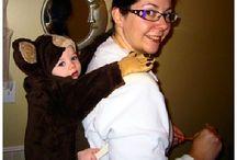 Halloween babywearing costume  ideas